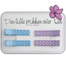 Den lille Prikken over i'en, Hårspenne sett 909 French Blue/Fresco
