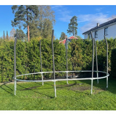 Sesong opp/ned montering av JumpKing trampoline