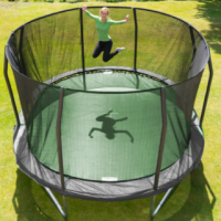 Montere ny JumpKing trampoline
