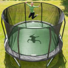 Utleie: JumpKing Trampoline Oval Combo 4,3 x 5,2 m